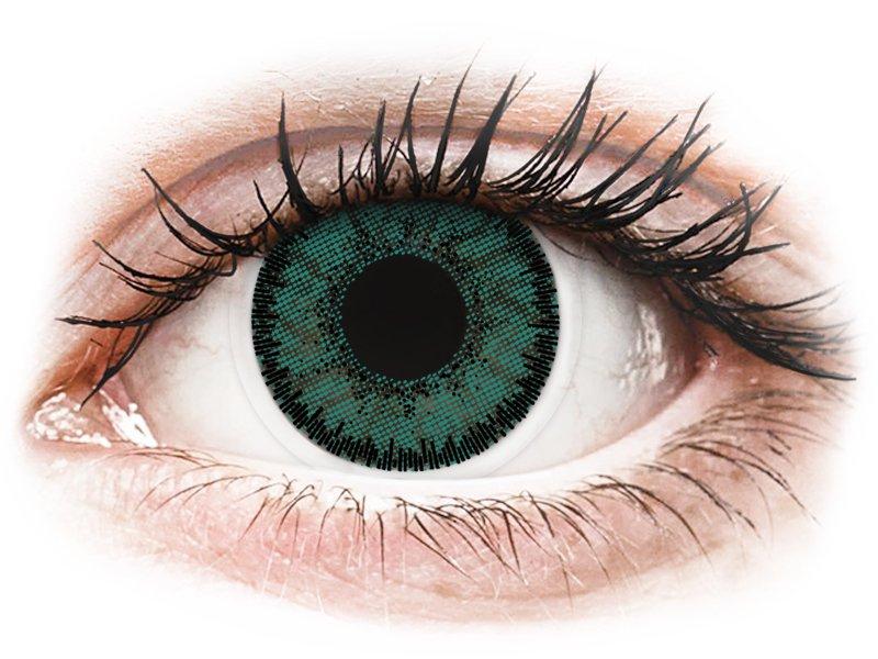 SofLens Natural Colors Jade - mit Stärke (2 Linsen) - Farblinsen