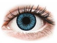 Blaue Kontaktlinsen mit Stärke - SofLens Natural Colors Pacific - mit Stärke (2 Linsen)