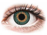 Blaue Kontaktlinsen mit Stärke - Expressions Colors Aqua - mit Stärke (1 Linse)