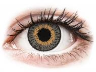 Graue Kontaktlinsen mit Stärke - Expressions Colors Grey - mit Stärke (1 Linse)