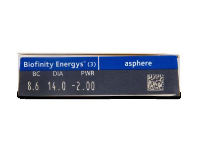 Biofinity Energys (3 Linsen) - Vorschau
