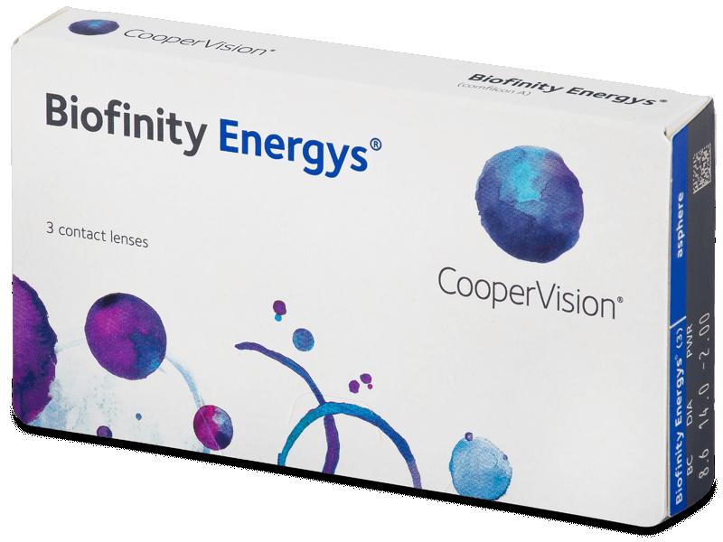 Biofinity Energys (3 Linsen) - Monatslinsen