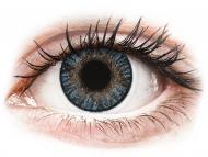 Blaue Kontaktlinsen mit Stärke - FreshLook ColorBlends Blue - mit Stärke (2 Linsen)