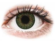 Grüne Kontaktlinsen ohne Stärke - FreshLook ColorBlends Gemstone Green - ohne Stärken (2 Linsen)