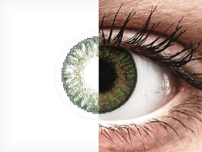 FreshLook ColorBlends Gemstone Green - ohne Stärken (2 Linsen)