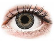 Graue Kontaktlinsen ohne Stärke - FreshLook ColorBlends Grey - ohne Stärken (2 Linsen)