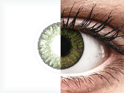 FreshLook ColorBlends Green - ohne Stärken (2 Linsen)