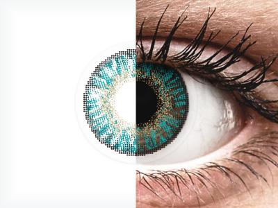 FreshLook ColorBlends Turquoise - ohne Stärken (2 Linsen)