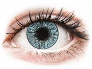 Blaue Kontaktlinsen mit Stärke - FreshLook Colors Blue - mit Stärke (2 Linsen)