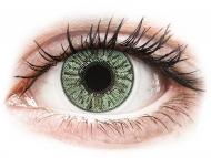 Farblinsen mit Stärke - FreshLook Colors Green - mit Stärke (2 Linsen)