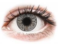 Graue Kontaktlinsen ohne Stärke - FreshLook Colors Misty Gray - ohne Stärken (2 Linsen)
