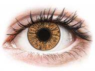 Farblinsen mit Stärke - FreshLook Colors Hazel - mit Stärke (2 Linsen)