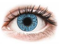 Blaue Kontaktlinsen mit Stärke - FreshLook Colors Sapphire Blue - mit Stärke (2 Linsen)