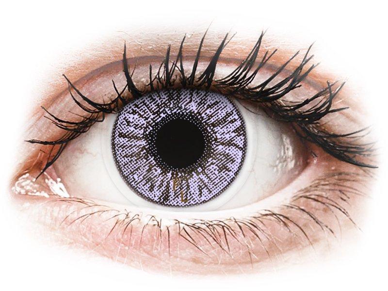 FreshLook Colors Violet - mit Stärke (2 Linsen) - Farblinsen