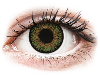 FreshLook One Day Color Green - ohne Stärken (10 Linsen)