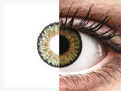 FreshLook One Day Color Pure Hazel - mit Stärke (10 Linsen)