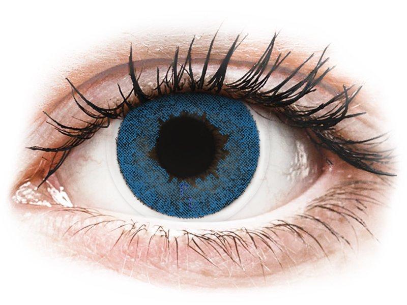 FreshLook Dimensions Pacific Blue - mit Stärke (6 Linsen) - Farblinsen