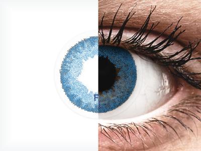 FreshLook Dimensions Pacific Blue - ohne Stärken (2 Linsen)