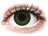 Farblinsen mit Stärke - FreshLook Dimensions Sea Green - mit Stärke (6 Linsen)