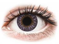 Farblinsen - Dioptrisch, Lila - TopVue Color - Violet - mit Stärke (2Linsen)
