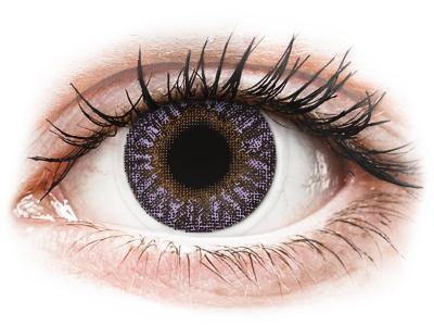 TopVue Color - Violet - ohne Stärken (2 Linsen)