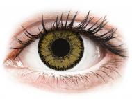 Farblinsen - Dioptrisch, Braun - SofLens Natural Colors Dark Hazel - mit Stärke (2 Linsen)