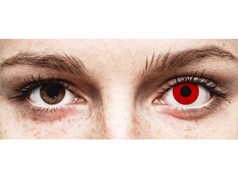 ColourVUE Crazy Lens - Red Devil - Tageslinsen ohne Stärken (2 Linsen)