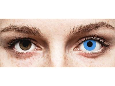 ColourVUE Crazy Lens - Sky Blue - Tageslinsen ohne Stärken (2 Linsen)