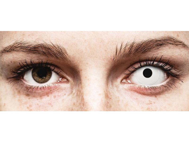 ColourVUE Crazy Lens - Whiteout - Tageslinsen ohne Stärken (2 Linsen)
