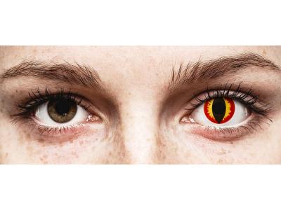 ColourVUE Crazy Lens - Dragon Eyes - Tageslinsen ohne Stärken (2 Linsen)