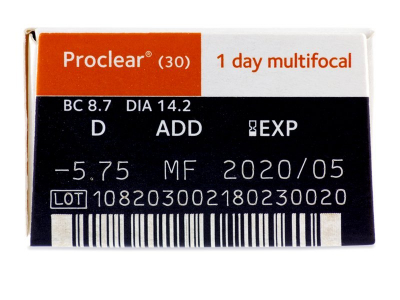 Proclear 1 Day multifocal (30 Linsen) - Vorschau