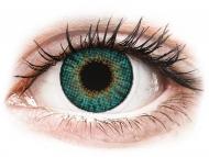 Grüne Kontaktlinsen mit Stärke - Air Optix Colors - Turquoise - mit Stärke (2Linsen)