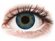 Blaue Kontaktlinsen mit Stärke - Air Optix Colors - True Sapphire - mit Stärke (2Linsen)