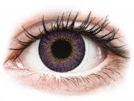 Farblinsen mit Stärke - Air Optix Colors - Amethyst - mit Stärke (2Linsen)