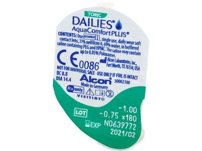 Dailies AquaComfort Plus Toric (30Linsen) - Blister Vorschau