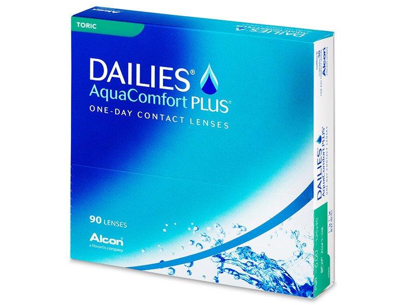 Dailies AquaComfort Plus Toric (90Linsen) - Torische Kontaktlinsen