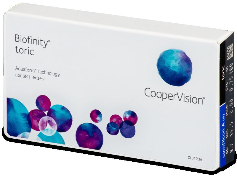 Biofinity Toric (6Linsen) - Torische Kontaktlinsen