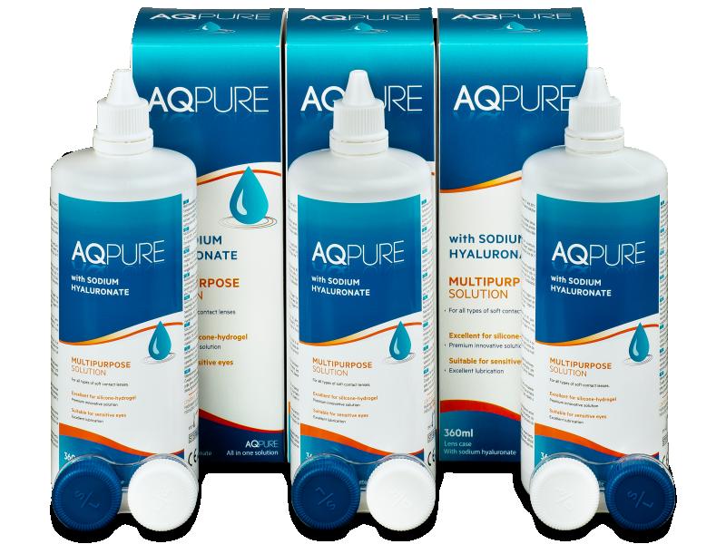 Pflegemittel AQ Pure 3x360ml  - Pflegelösung – 3er Pack