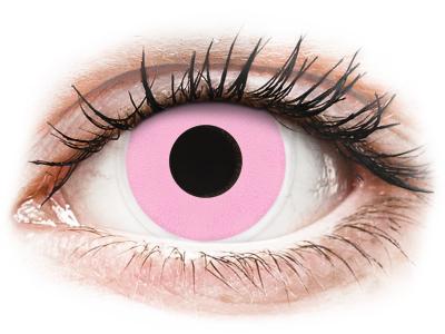 ColourVUE Crazy Lens - Barbie Pink - ohne Stärke (2 Linsen)