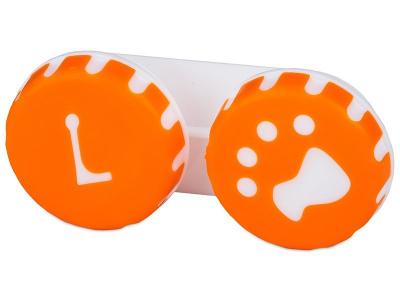 Behälter Pfote orange