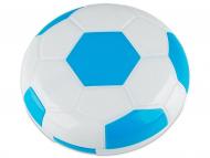 Kontaktlinsen-Etuis mit Spiegel - Kontaktlinsen-Etui Fußball - blau