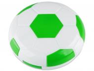 Kontaktlinsen-Etuis mit Spiegel - Kontaktlinsen-Etui Fußball - grün