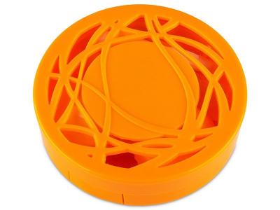 Kontaktlinsen-Etui Ornament - orange