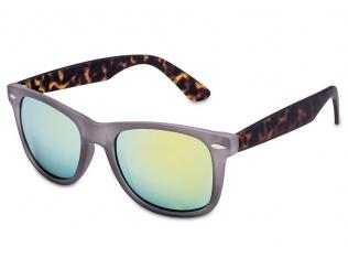 Brillen - Sonnenbrille Stingray - Yellow/Grey Rubber