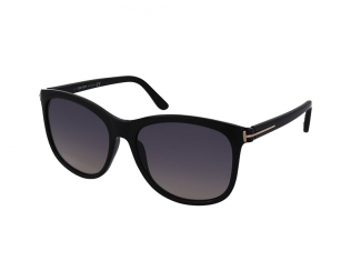 Sonnenbrillen Tom Ford - Tom Ford Fiona-02 FT0567 01B