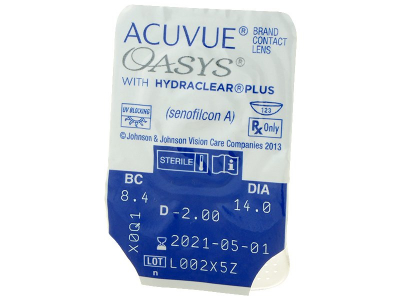 Acuvue Oasys (12 Linsen) - Blister Vorschau