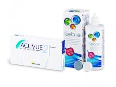 Acuvue 2 (6 Linsen) + Gelone 360 ml