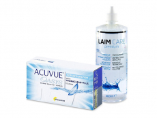 Acuvue Oasys for Astigmatism (12 Linsen) + Laim-Care 400 ml