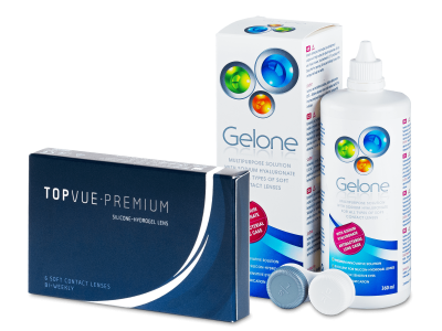 TopVue Premium (6Linsen) + Gelone360ml