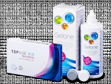 TopVue Air Multifocal (3Linsen) +Gelone 360ml